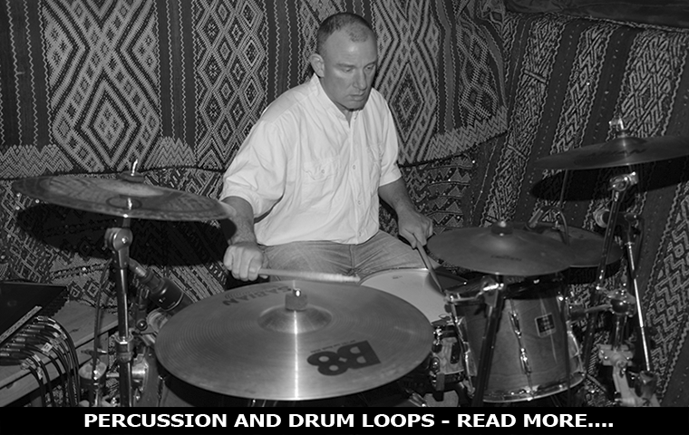 Percussion and drum loops - Read More....