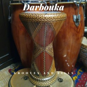 The darbouka drum Morocco